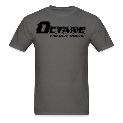 OCTANE ENERGY DRINK™ MEN'S GREY T-SHIRT - Men's T-Shirt