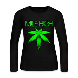 Mile High - Women's Long Sleeve Jersey T-Shirt