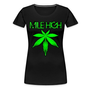 Mile High - Women's Premium T-Shirt