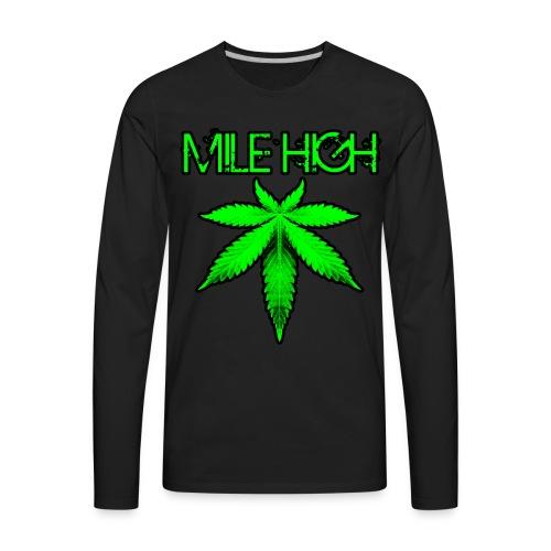 Mile High - Men's Premium Long Sleeve T-Shirt