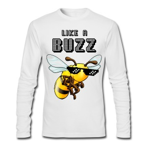 Like a Buzz - Men's Long Sleeve T-Shirt by Next Level