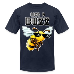 Like a Buzz - Men's T-Shirt by American Apparel