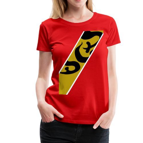gold red - Women's Premium T-Shirt