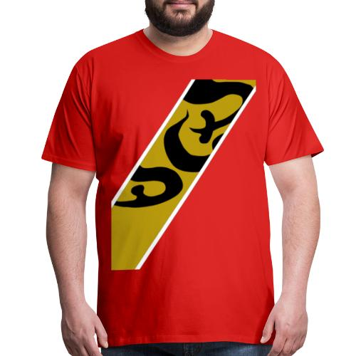 gold red - Men's Premium T-Shirt