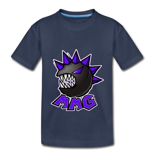 Mike's Monster Logo Purple Edition - Kids' Premium T-Shirt