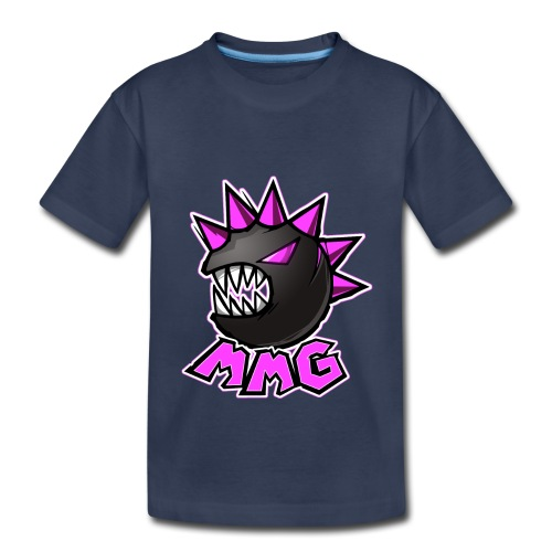 Mike's Monster Logo Pink Edition - Kids' Premium T-Shirt