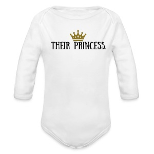 ATR BABY GIRL ROYAL FAMILY - Long Sleeve Baby Bodysuit