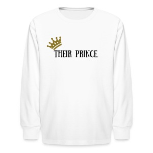 ATR BOY'S ROYAL FAMILY - Kids' Long Sleeve T-Shirt