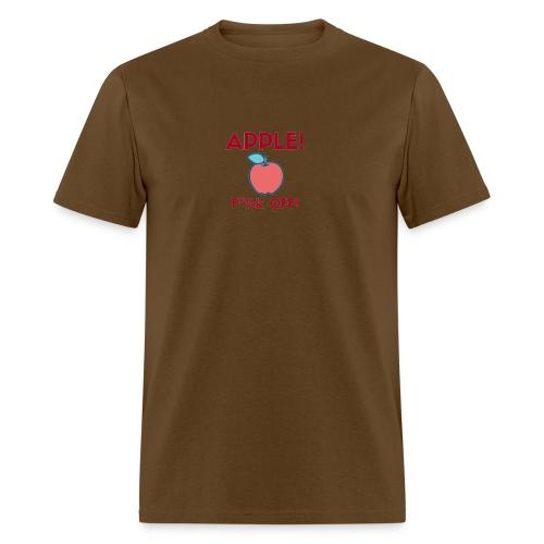 210 : brown - Men's T-Shirt