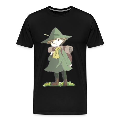 Moomin X Cruz Avery: Snufkin T-shirt - Men's Premium T-Shirt