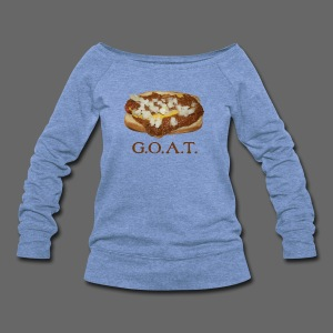 Coneys are the G.O.A.T. - Women's Wideneck Sweatshirt