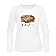 Long Sleeve Shirts ~ Women's Long Sleeve Jersey T-Shirt ~ Coneys are the G.O.A.T.