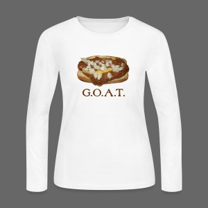 Coneys are the G.O.A.T. - Women's Long Sleeve Jersey T-Shirt