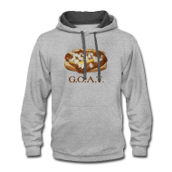 Hoodies ~ Contrast Hoodie ~ Coneys are the G.O.A.T.
