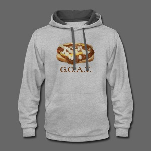 Coneys are the G.O.A.T. - Contrast Hoodie