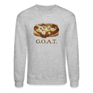 Long Sleeve Shirts ~ Crewneck Sweatshirt ~ Coneys are the G.O.A.T.