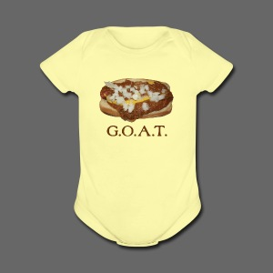Coneys are the G.O.A.T. - Short Sleeve Baby Bodysuit