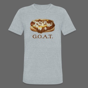 Coneys are the G.O.A.T. - Unisex Tri-Blend T-Shirt by American Apparel