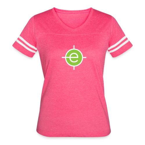 Women's Pink Vintage OET T-shirt - Women's Vintage Sport T-Shirt