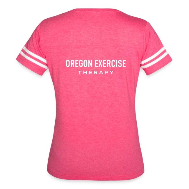 Women's Pink Vintage OET T-shirt