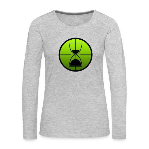 TimeShot Emblem - Women's Premium Long Sleeve T-Shirt