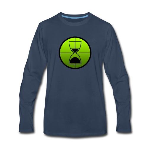 TimeShot Emblem - Men's Premium Long Sleeve T-Shirt