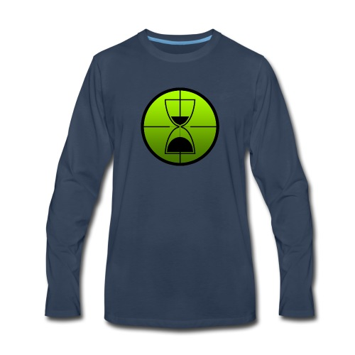TimeShot Emblem - Men's Premium Long Sleeve T-Shirt