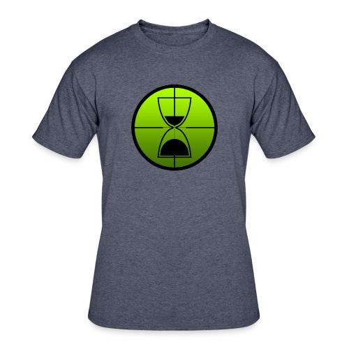 TimeShot Emblem - Men's 50/50 T-Shirt