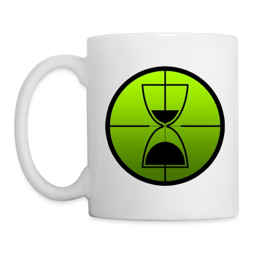 TimeShot Emblem White Mug - Coffee/Tea Mug