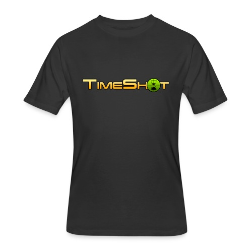 TimeShot Logo - Men's 50/50 T-Shirt