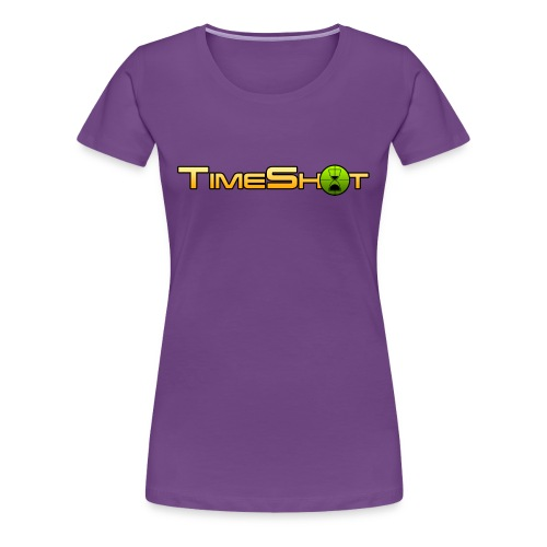 TimeShot Logo - Women's Premium T-Shirt