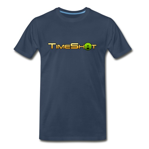 TimeShot Logo - Men's Premium T-Shirt