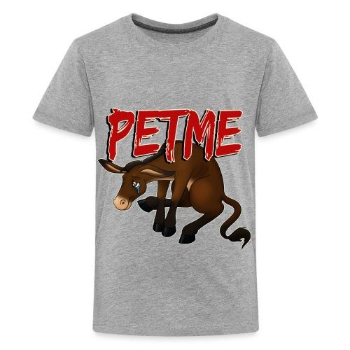 #PETME Sad Mule - Kids' Premium T-Shirt