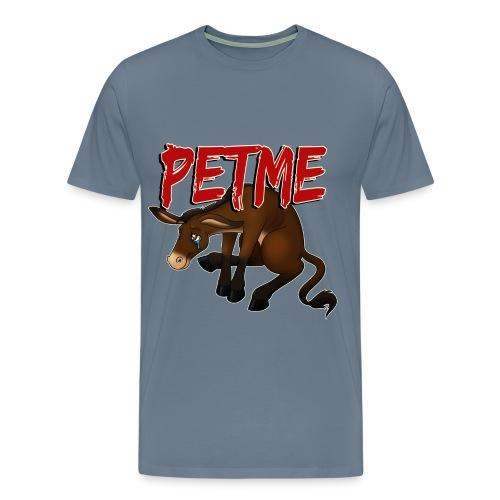 #PETME Sad Mule - Men's Premium T-Shirt