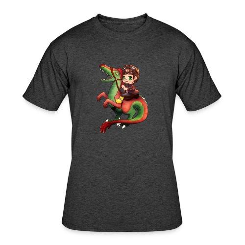 Raptor Riding - Men's 50/50 T-Shirt