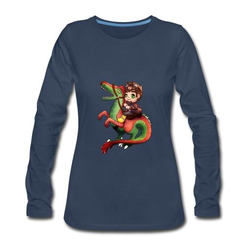 Raptor Riding - Women's Premium Long Sleeve T-Shirt