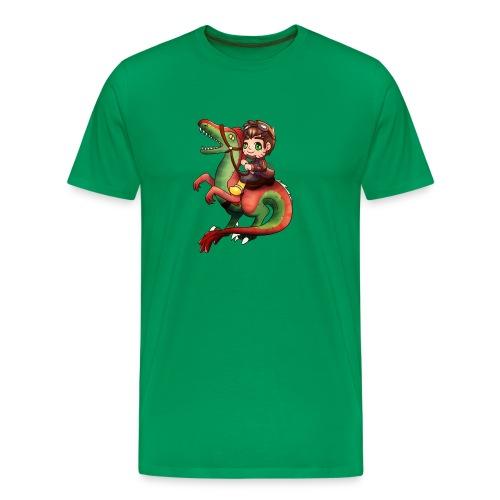Raptor Riding - Men's Premium T-Shirt