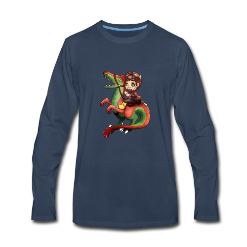 Raptor Riding - Men's Premium Long Sleeve T-Shirt