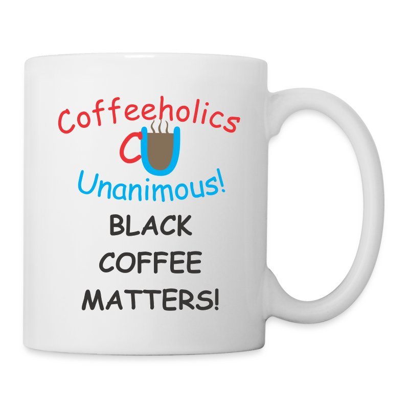 CU Black Coffee Matters cup - Coffee/Tea Mug
