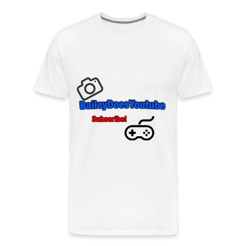 BaileyDoesYoutube Mens Tee  - Men's Premium T-Shirt