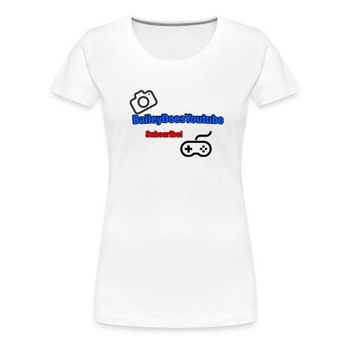 BaileyDoesYoutube Womens Tee - Women's Premium T-Shirt
