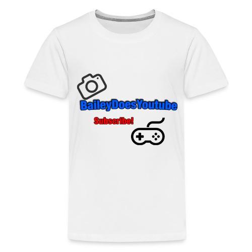 BaileyDoesYoutube Kids Tee - Kids' Premium T-Shirt