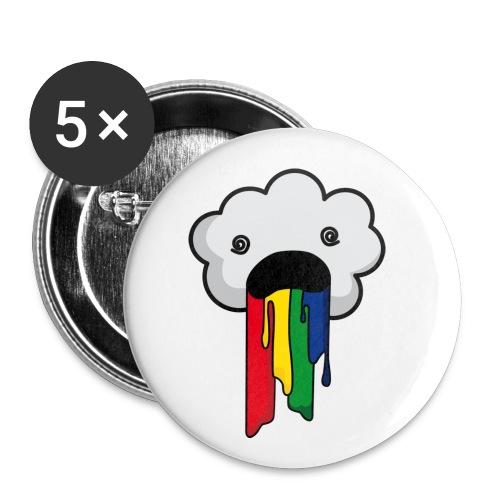 Sick Skyward Cloud (small 5 pack buttons)  - Small Buttons