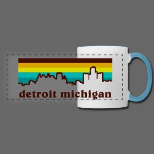 detroit michigan - Panoramic Mug