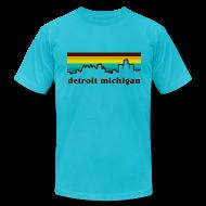 T-Shirts ~ Men's T-Shirt by American Apparel ~ detroit michigan