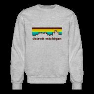 Long Sleeve Shirts ~ Crewneck Sweatshirt ~ detroit michigan