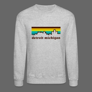 detroit michigan - Crewneck Sweatshirt