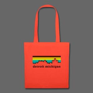 detroit michigan - Tote Bag