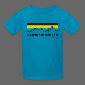 detroit michigan - Kids' T-Shirt