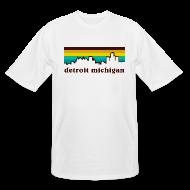 T-Shirts ~ Men's Tall T-Shirt ~ detroit michigan